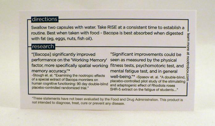 Nootrobox Review Geek Brain Power Best 5 Supplements