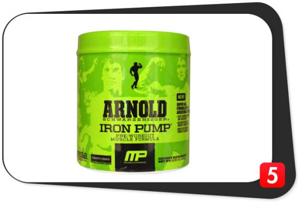 "Arnold Iron Pump Review – Like a 6g Scoop of ""Having Sex with a Woman"""