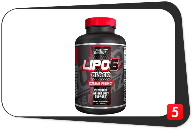 This Lipo-6 Black review details Nutrex's flagship fat loss supplement.