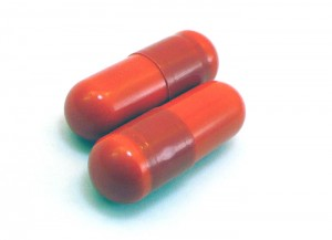 TestoFuel Capsules are reddish-orange. Cool, but pointless.