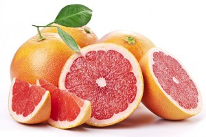 Grapefruit is a natural source of the reputed fat-burning compound naringin.