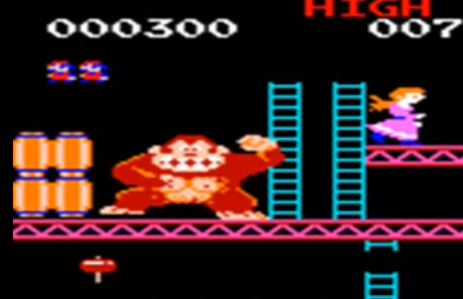 Another Ape-Bro who's fixated on the sexy blondes. Donkey Kong has superstrength & athletic prowess, too. ALPHA, BRO.