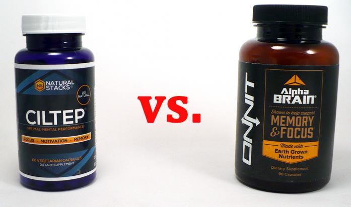 CILTEP vs. Alpha BRAIN - Best 5 Supplements