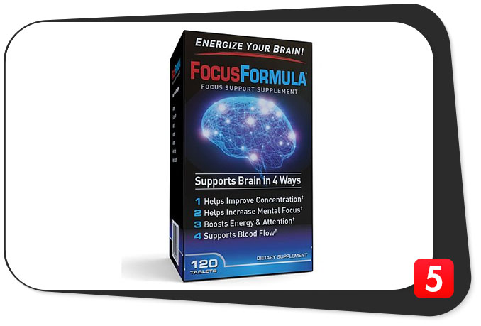 Focus Formula Review – Basic Mass-Market Brain Energizer