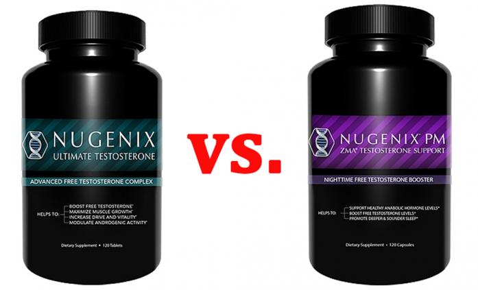 Nugenix Ultimate Testosterone vs. Nugenix PM - Best 5
