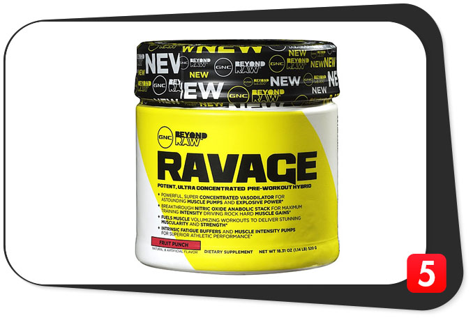 Gnc Ravage Review The Macgyver Of Pwos Best 5 Supplements