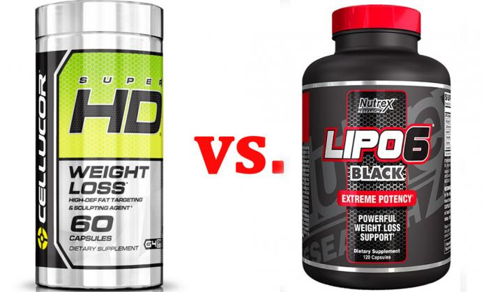 Cellucor Super HD vs. Lipo-6 Black | Best 5 Supplements