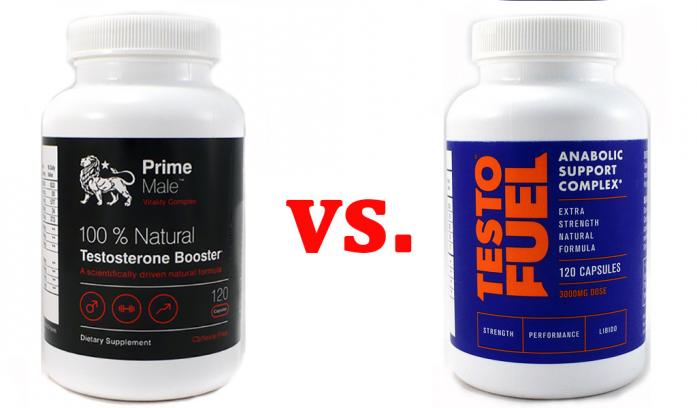 Image result for PRIME MALE VS TESTOFUEL