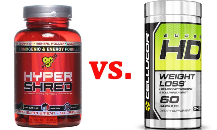 Hyper-shred-vs-Cellucor-Super-HD