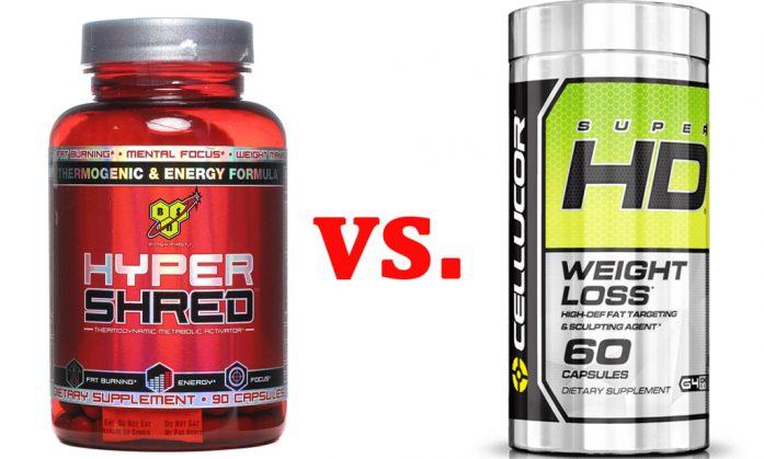 Hyper-shred-vs-Cellucor-Super-HD