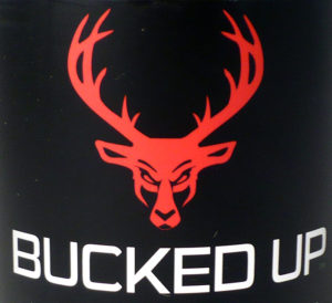 Bucked Up has got one badass logo.