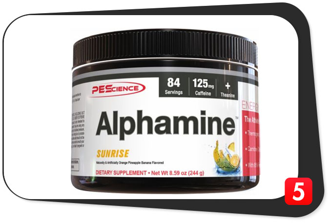 Alphamine Review – Weak (but Delicious) Thermo Formula