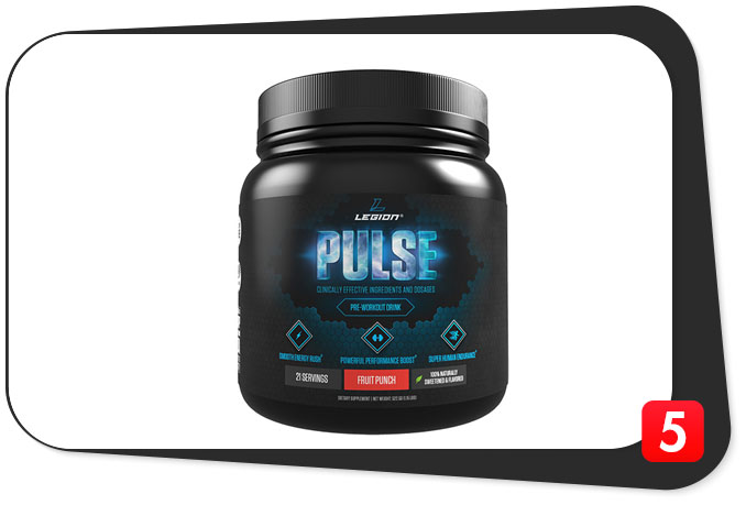 LEGION PULSE Review – Pulsating Workout Performance With Each Scoop!