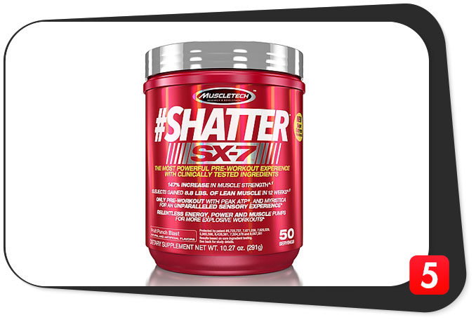 SHATTER SX-7 Review – Shatters Expectations Without Creatine
