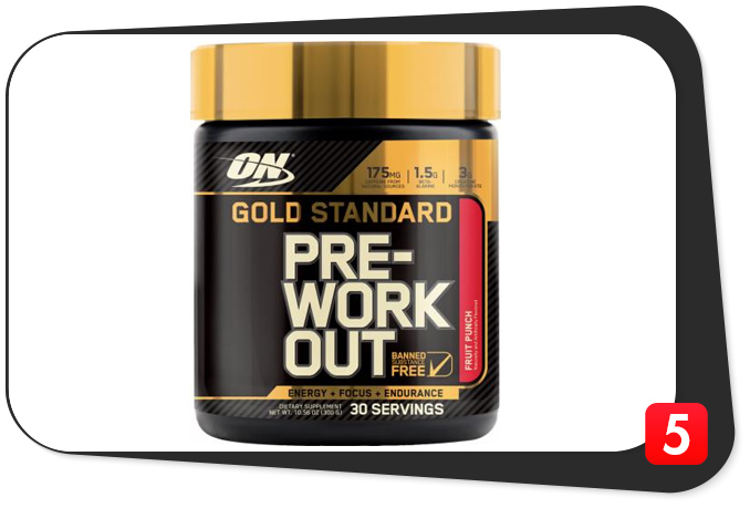 Gold Standard Pre-Workout Review – A Preworkout Worthy Of Its Name