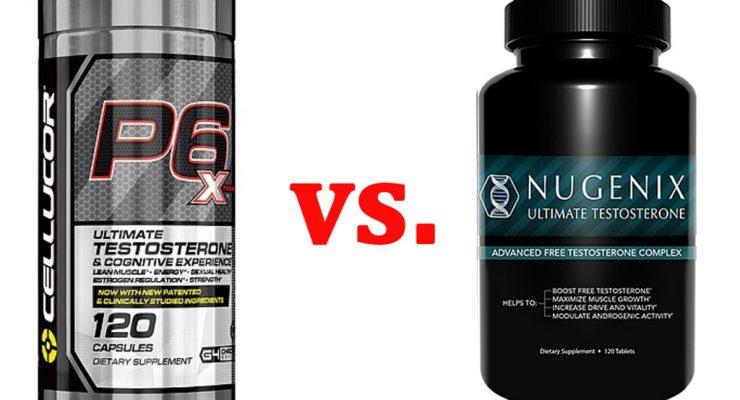 Cellucor P6 Xtreme vs. Nugenix Ultimate Testosterone
