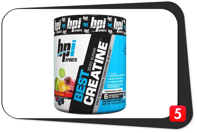 BPI Sports Best Creatine Review – Six Creatines And Pink Salt? Uh, Okay?