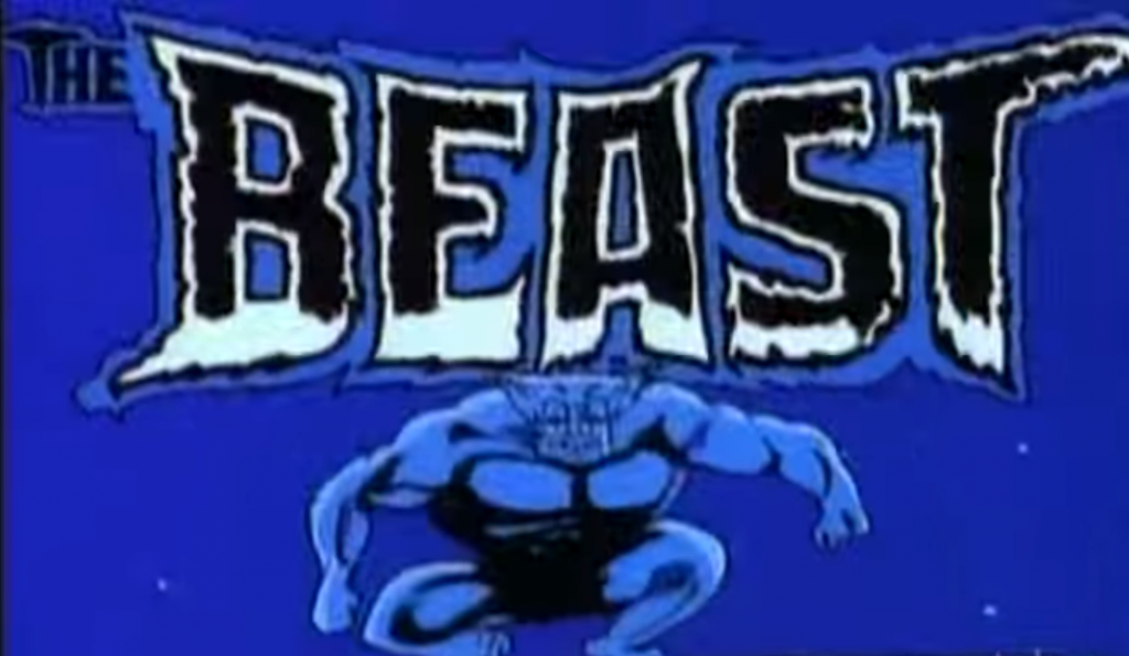 Is BEAST from X-Men the Beast BSN is trying to invoke? Well, the color scheme almost matches...