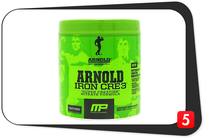 "MUSCLEPHARM ARNOLD IRON CRE3 Review – This ""Super"" Blend Is Just Okay"