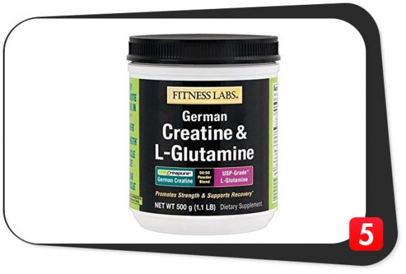 fitness labs creatine glutamine