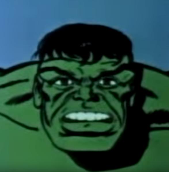 ME HULK WANT BIG GREEN BULGE FOR BIG GREEN PUMPS
