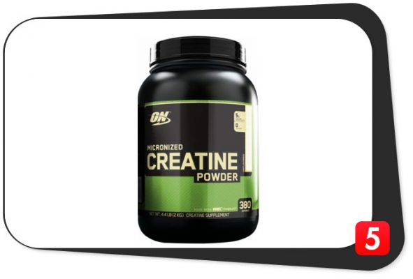 on micronized creatine