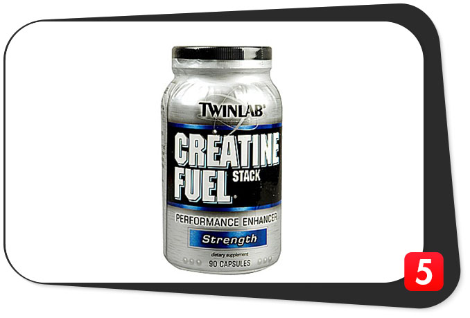 TWINLAB Creatine Fuel Stack – Pump Up The Cell Volume!