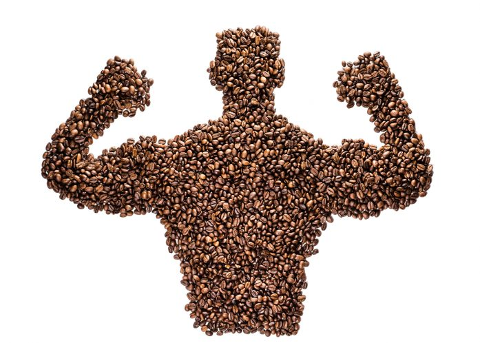 Now coffee can make you STRONG.