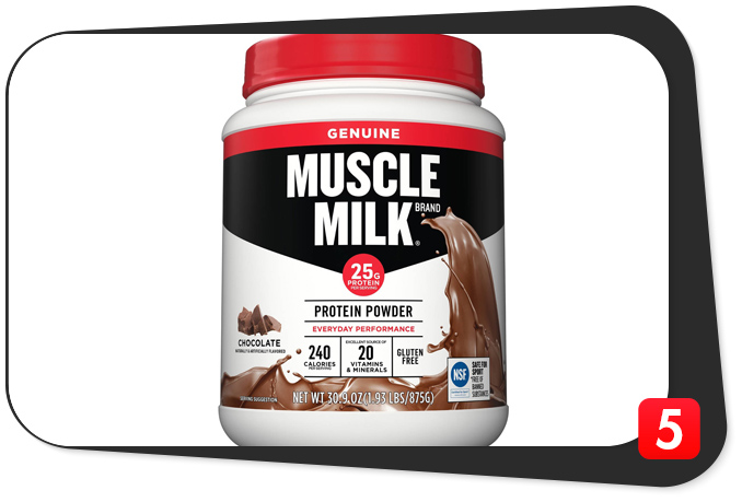Muscle protein powder reviews