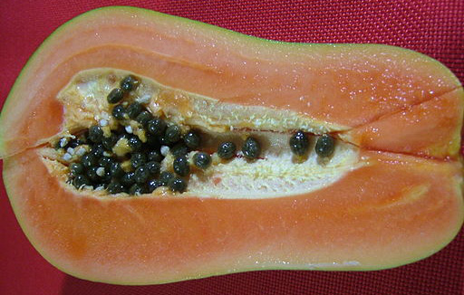 Papaya is not a flavor of RSP Whey, but it does supply the digestive enzyme papain. Also, how freakin' sexy is papya as a fruit?