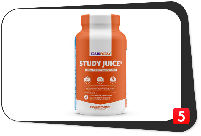 Study Juice Review – Caffeinated Brain Juice for the Students (Non-Alcoholic)