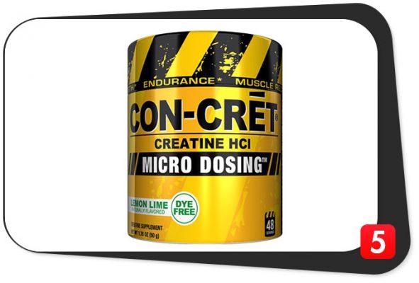 con-cret micro dosing