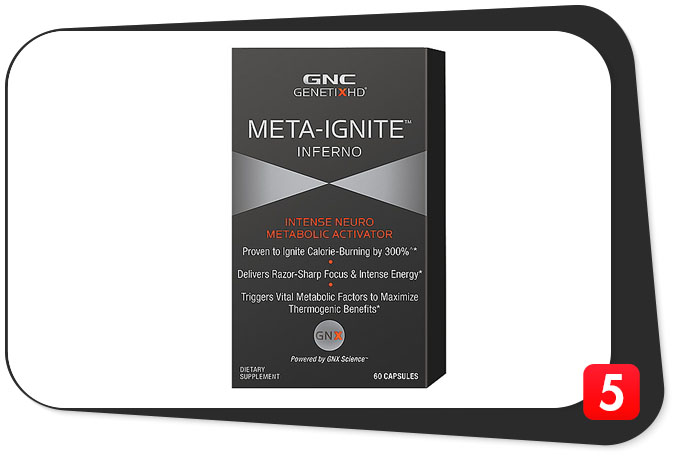 GNC META-IGNITE INFERNO Review – Hot Fat Burner Drenched By Poor Dosing