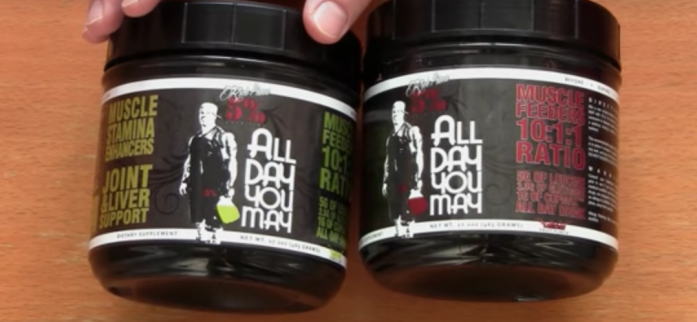 Can Rich Piana 5% Nutrition AllDayYouMay exceed everyone's expectations?