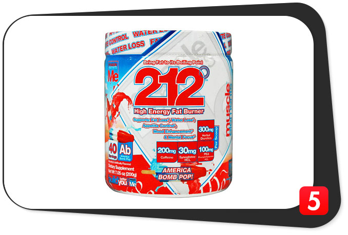 212 High Energy Fat Burner Review – Not For Competing But Good For Fat Burning