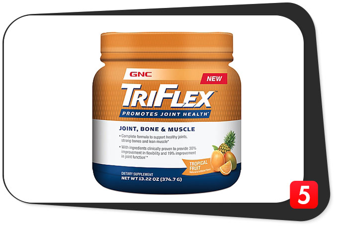 GNC TriFlex Joint, Bone, & Muscle Review – Non-Traditional Joint Supplement Covers the Bases, But Has A Few Chinks