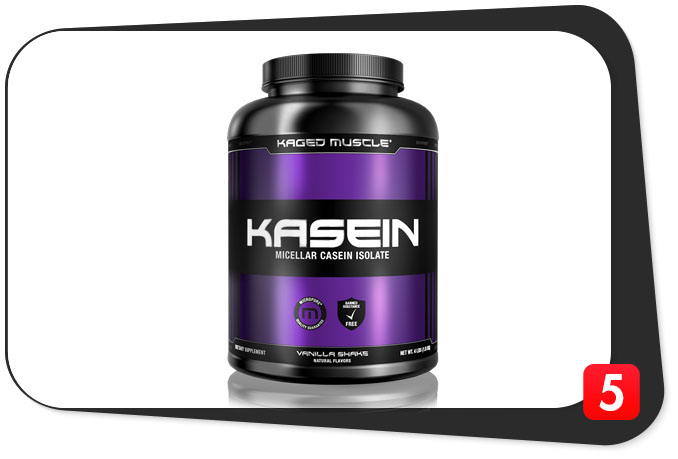 KAGED MUSCLE KASEIN Review – Killer Casein Product's Fillers Can't Overcome Its Upsides