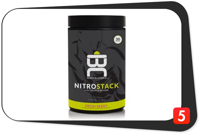 Body's Choice NITRO STACK Review – 3-in-1 Muscle Builder is Simple, Stacked, and Perfect