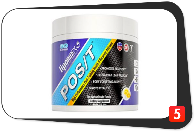 Liporidex POS/T Review – Post-Workout with Rare Ingredients Blows Away the Compeitition