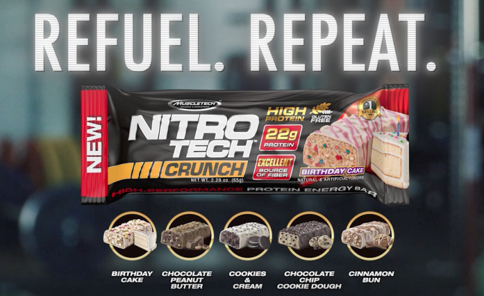 If You Want A Protein Bar With High Fiber Content MuscleTech NITRO TECH CRUNCH Is Something May To Consider