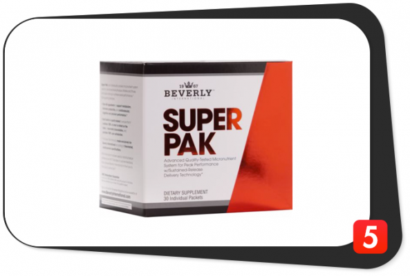 Beverly International Super Pak Review – The King of B Vitamin Content Among Multivitamins Makes A Statement