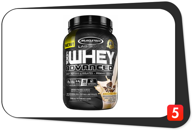 MuscleTech Lab Series 100% Whey Advanced Review – Protein Backed By Scientific Research Isn't Perfect, But Still Worth It