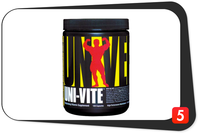 Universal Nutrition Uni-Vite Review – Athlete Multivitamin Has Promise, But Comes Up Short On Quality