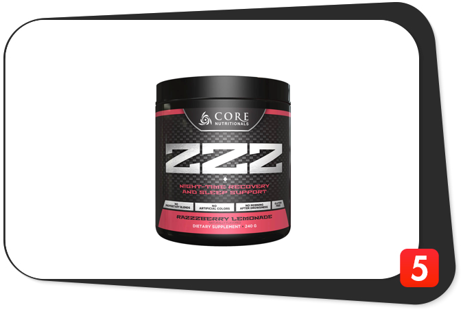 Core Nutritionals Core ZZZ Review – Underrated Sleep Supplement Not Perfect, But Efficient