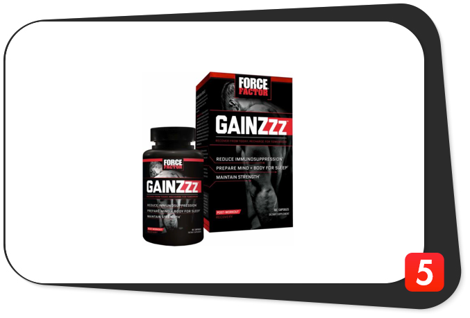 Force Factor GainZzz Review – Sleep Supplement Tainted With One Too Many Fillers Fizzles Out