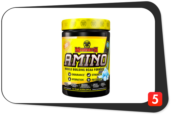 Mammoth Supplements Mammoth Amino Review – This Muscle-Building BCAA Formula May Not Be Perfect, But It Sure Is Versatile