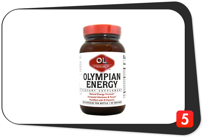Olympian Labs Olympian Energy Review – B Vitamin And Herbal Combo Produces A Winner