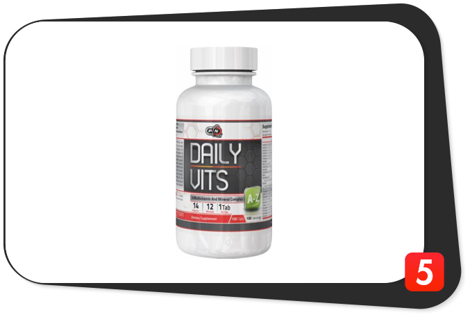 Pure Nutrition Daily Vits Review – Simple, Everyday Multivitamin Makes A Statement