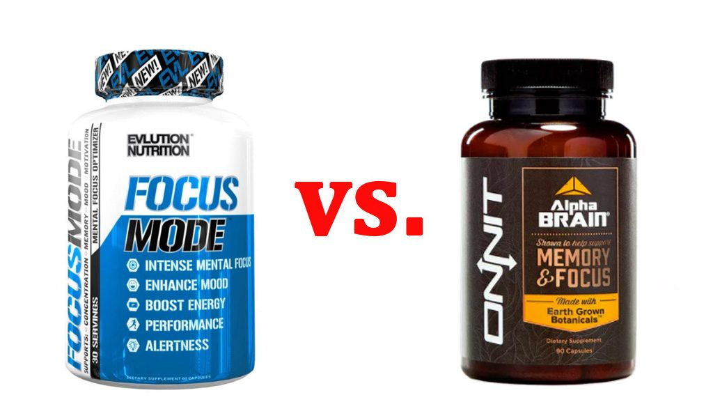 FocusMode vs. Alpha Brain