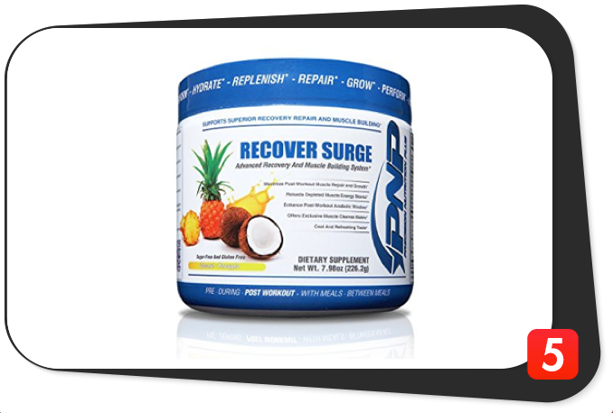 PNP Supplements Recover Surge Review – Comprehensive Post-Workout's Glaring Chinks Affect Its Luster